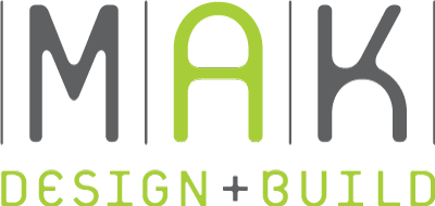 MAK Design and Build Logo